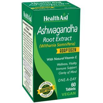 ASHWAGANDHA 60 CAP HEALTH AID