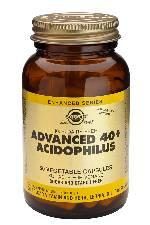 40+ ACIDOPHILUS AVANZADO 120CAP SOLGAR