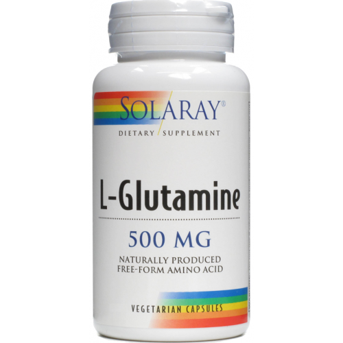 GLUTAMINA 500MG 50CAP SOLARAY