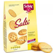 SALTI S/G (CRACKERS SALADOS) 175GR SCHAR