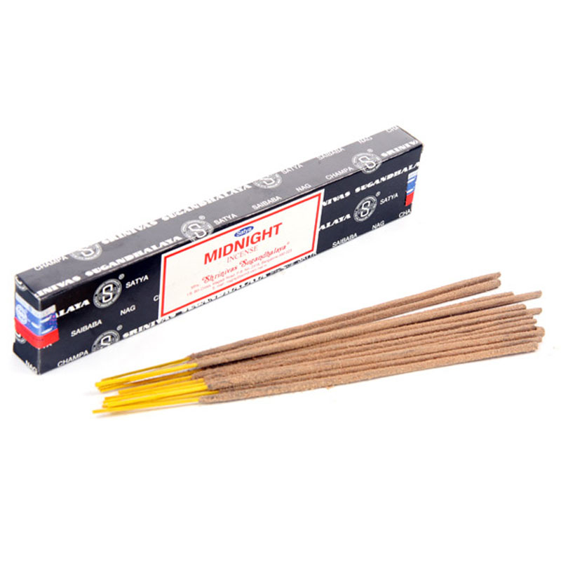Sticks Midnight Nag Champa 12v Satya