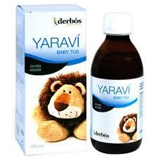 YARAVI BABY TUS 250ML DERBÓS