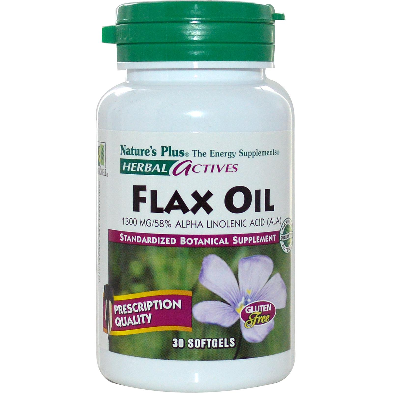 PERLAS LINAZA 1300MG FLAX OIL 30PERLAS NATURE´S PLUS