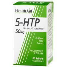 5 HTP 50MG 60C HEALTHAID