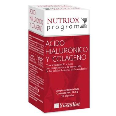 ACIDO HIALURONICO Y COLAGENO 300GR 30C NUTRIOX PROGRAM YNSADIET
