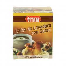 CALDO DE LEVADURA Y SETAS VITAM 150GR EKOLASI