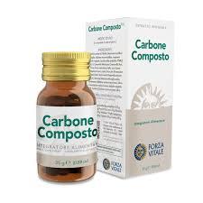 CARBONE COMPOSTO 25g comprimidos FORZA VITALE