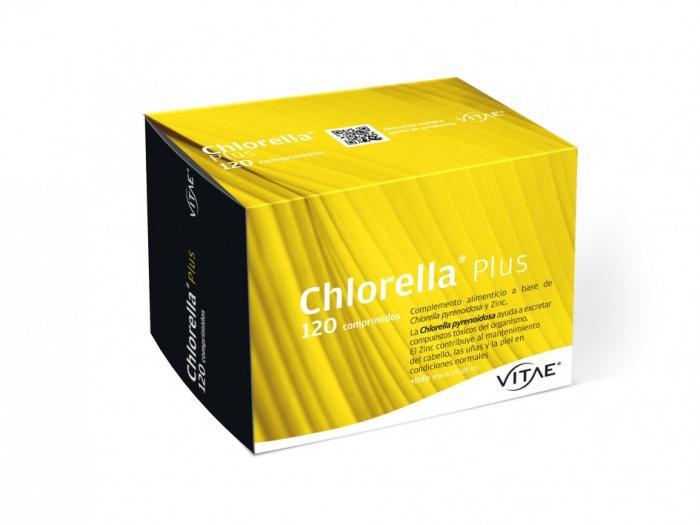 CHLORELLA PLUS 1000MG 120COMP VITAE