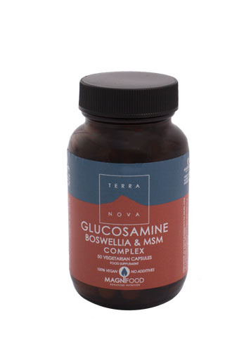 Glucosamina, Boswelia y MSM Complex 50 Vcáps Terranova