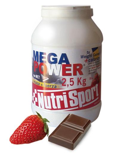 MEGAPOWER 2.5 KG CHOCO NUTRISPORT