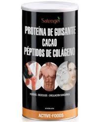Proteína de guisante con colageno y cacao 500Gr  Active Foods