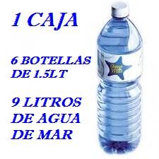 PACK 1 CAJAS 9LT AGUA DE MAR 1.5LT LACTODUERO