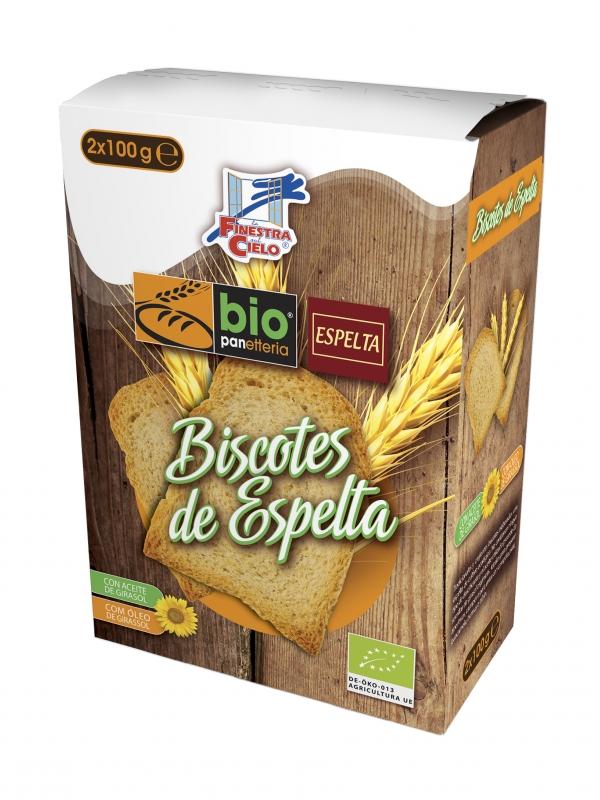 BISCOTES ESPELTA 200GR LA FINESTRA