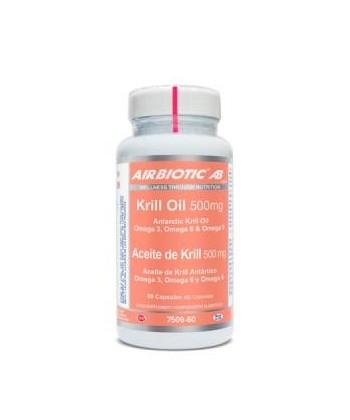 ACEITE DE KRILL ANTARTICO 500MG 60CAP AIRBIOTIC