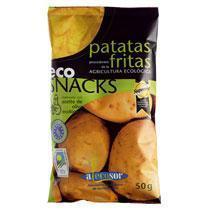 PATATAS CHIPS ECO 40 GR  SORIA NATURAL