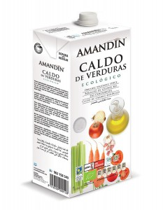 CALDO VERDURAS NATURAL 1LT ECO AMANDIN