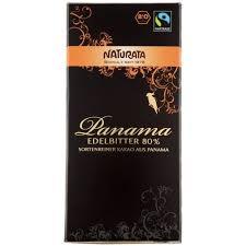 CHOCO NEGRO AMARGO PANAMA 80% 100GR NATURATA