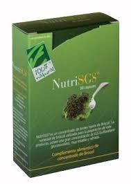NUTRISGS 30 CAP  100 % NATURAL
