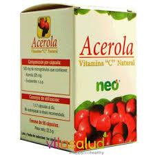 ACEROLA VIT C 45 CAP NEO