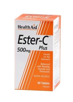 Ester-C® Plus 500mg 60Comp HealthAid