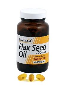 Aceite de linaza 1000 mg HealthAid