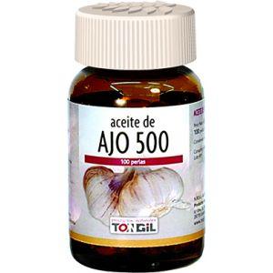 Aceite de Espino Blanco Ajo y Olivo 60perlas TONGIL