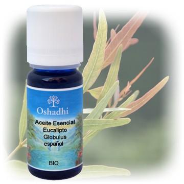 Aceite esenciales Eucalipto Globulus 10 ml. OSHADHI