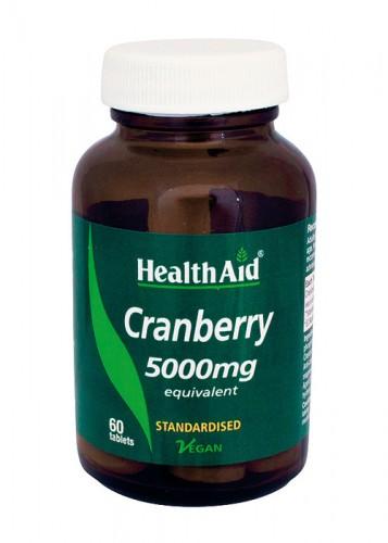 Arándano rojo Vaccinium macrocarpon 5.000mg 60cap HealthAid
