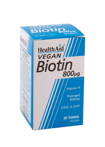 Biotina 800mg 30Comp HealthAid