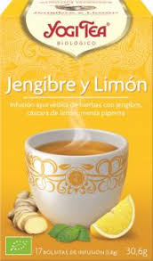 JENGIBRE LIMON   17F BIO YOGI TEA