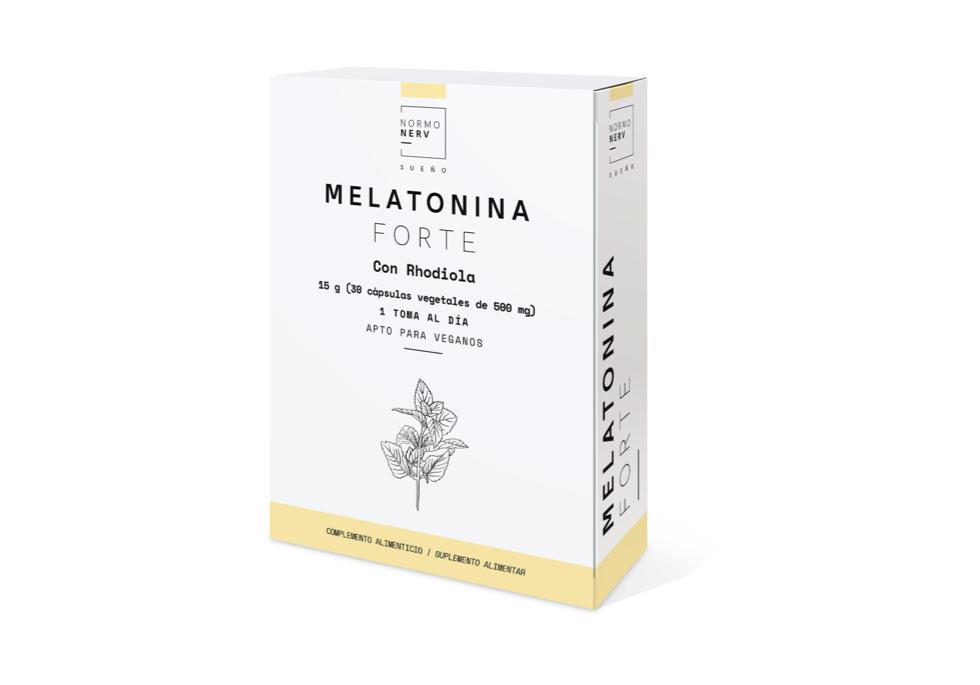 MELATONINA FORTE 1MG 30CAP HERBORA