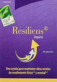RESILIENS Deporte 60 capsulas 100 % NATURAL