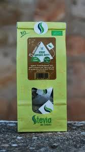 Té Verde Menta-Gunpowder BIO Stevia 15P STEVIA DEL CONDADO