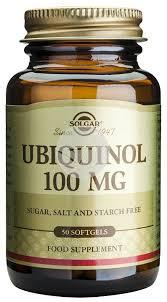 UBIQUINOL 50 CAPSULAS 100MG SOLGAR