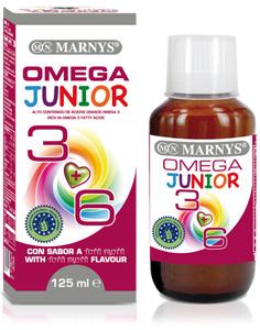 OMEGA 3 6 JUNIOR BIO 125ML  MARNYS