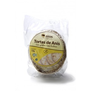 TORTAS ANIS S/G 210GR AIROS
