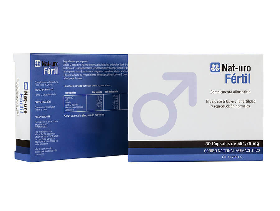 NAT-URO FERTIL 30cap