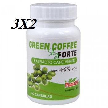 3x2 CAFÉ VERDE 45% 60 CAP 500 MG PLANTAPOL