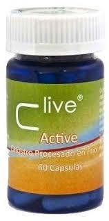 C LIVE ACTIVE CALOSTRO 60cap VBYOTICS
