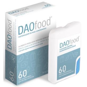 DAO FOOD dispensador 60microcomprimidos DR-HEALTHCARE
