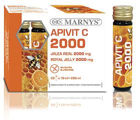 APIVIT C 1000 JALEA REAL 20V MARNYS