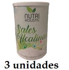 SALES ALCALINAS 445G 3 unidades NUTRI HOLISTIC