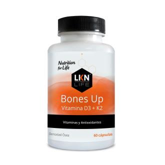 BONES UP - VITAMINA D3 + K2 50 COMP LKN