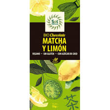 CHOCOLATE MATCHA LIMON 70G SOL NATURAL