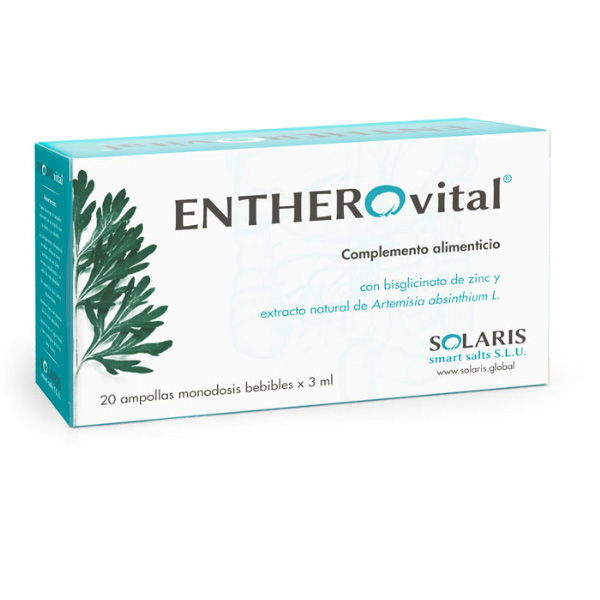 ENTHEROvital Probiovital 20 AMPOLALS pack 3 unidades SOLARIS