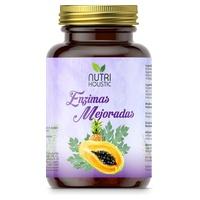 ENZIMAS MEJORADAS 60 CAPSULAS NUTRI HOLISTIC