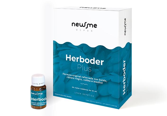 HERBODER PLUS 20 VIALES  HERBORA