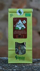 Hoja de Olivo con Sauco y Vainilla Bio stevia  15P STEVIA DEL CONDADO
