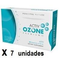 ActivOzone PREMIUM60 30 ampollas pack 7 unidades