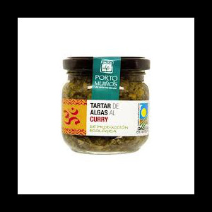 TARTAR ALGAS CURRY 150GR PORTO MUIÑOS